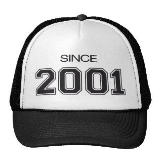 ideia do presente de aniversário 2001 boné