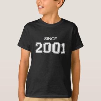 ideia do presente de aniversário 2001 camiseta