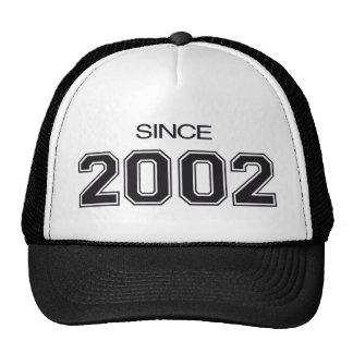 ideia do presente de aniversário 2002 boné