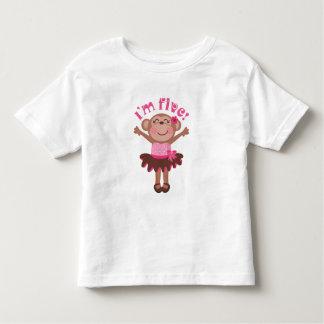 Ideia do presente de aniversário Im 5 Tshirts