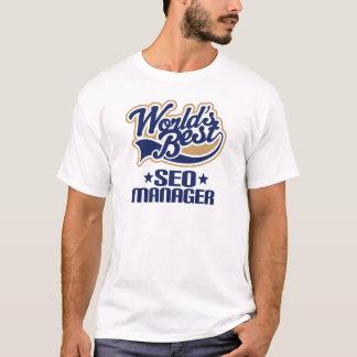 Ideia do presente para o gerente de Seo (mundos Camiseta