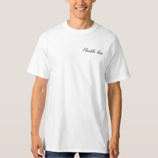 Ideia flexível t-shirt