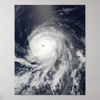 Ideia satélite do furacão Celia Posteres