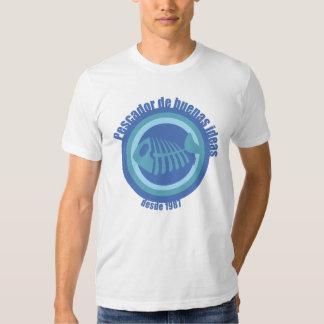 Ideias de Pescador de buenas do desgaste de Qawana Tshirt