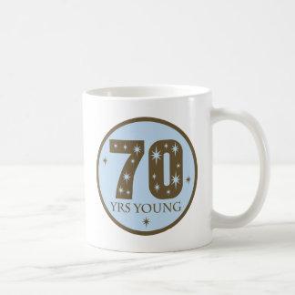 ideias do presente de aniversário do 70 caneca de café