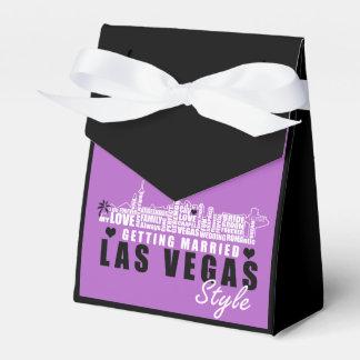 Ideias do presente de casamento de Vegas - caixas