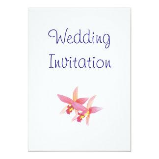 Ideias elegantes simples modernas do casamento da convite 12.7 x 17.78cm