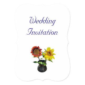 Ideias elegantes simples modernas do casamento do convite 12.7 x 17.78cm