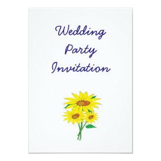 Ideias elegantes simples modernas do casamento dos convite 12.7 x 17.78cm