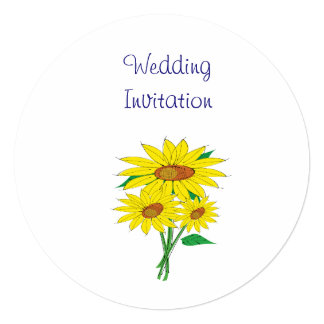 Ideias elegantes simples modernas do casamento dos convite quadrado 13.35 x 13.35cm