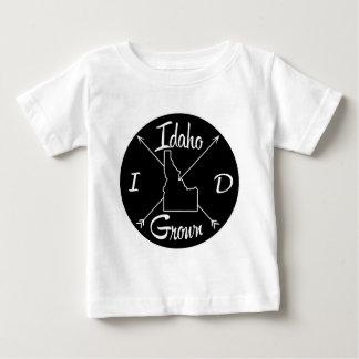 Identificação crescida Idaho Camiseta Para Bebê