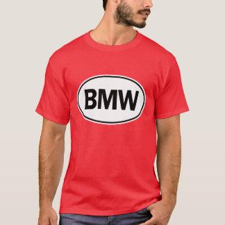 Identificação oval de BMW Camiseta