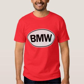 Identificação oval de BMW T-shirt