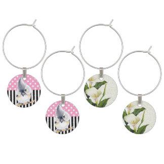 Identificador De Taças Bolinhas cor-de-rosa do Titmouse