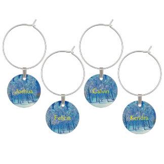 Identificador De Taças Neve azul do Natal #4 do inverno Spruce da árvore