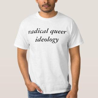 ideologia estranha radical t-shirt