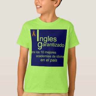 idiomas Múrcia da academia do mejor do la Camiseta