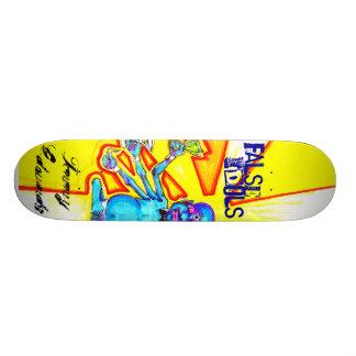 Ídolos falsos de Tommy Edwards Shape De Skate 19,7cm