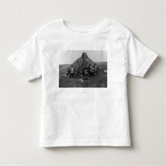 Iglu Eskimo perto de Nome, fotografia de Alaska T-shirts