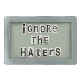 Ignore os haters.