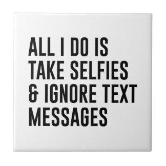 Ignore textos
