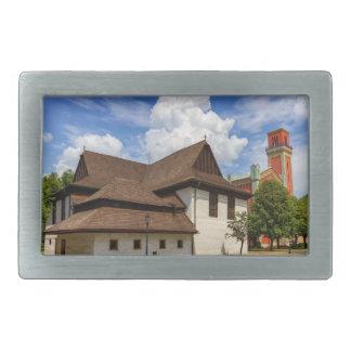 Igreja articulaa de madeira em Kezmarok, Slovakia