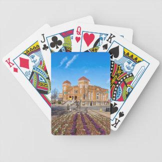 Igreja baptista da décima sexta rua baralhos de pôquer
