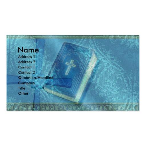 igreja modelos cartão de visita
