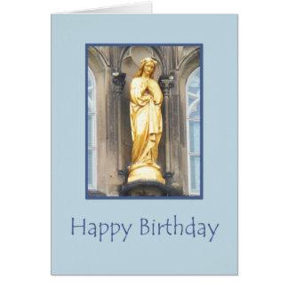 Igreja Católica de St Mary - cartão do feliz