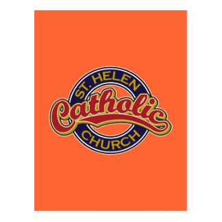 Igreja Católica do St. Helen Cartões Postais