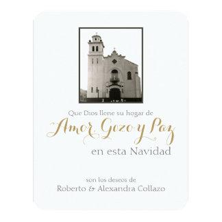 Igreja Católica espanhola, Natal de Puerto Rico Convite 10.79 X 13.97cm
