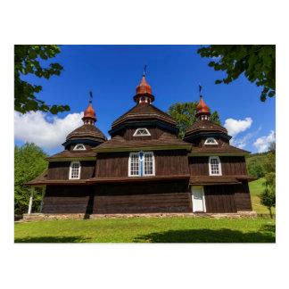 Igreja Católica grega, Nizny Komarnik, Slovakia Cartão Postal