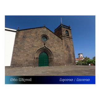 Igreja Católica portuguesa antiga Cartão Postal