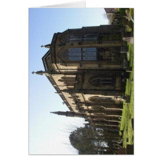 Igreja católica romana em Inglaterra Cartão