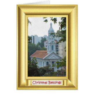 Igreja católica romana Singapore Cartão