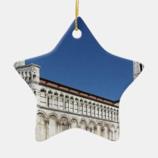 Igreja católico romano da basílica ornamento de cerâmica