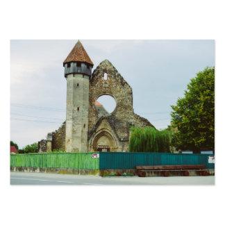 Igreja Cistercian, Carta Modelo Cartoes De Visita