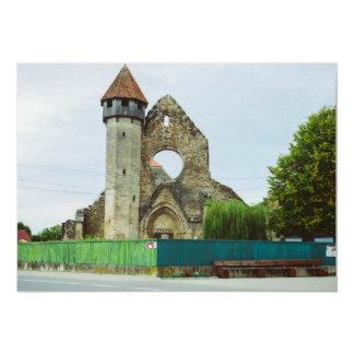 Igreja Cistercian, Carta Convite 12.7 X 17.78cm