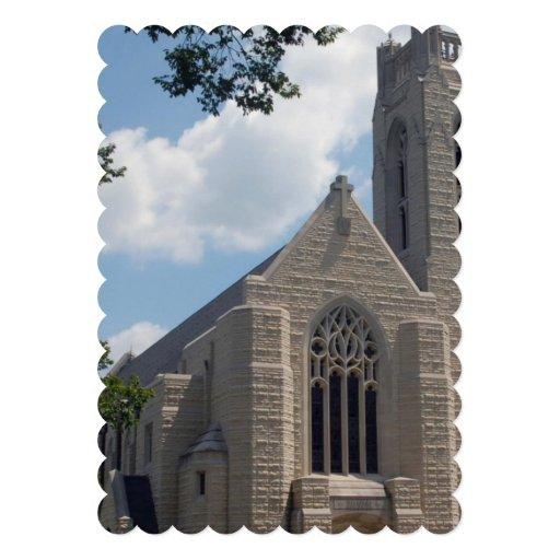 Igreja da catedral convite