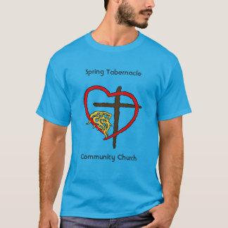 Igreja da comunidade do tabernáculo do primavera camiseta