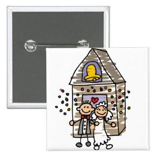 Igreja da licença dos noivos boton