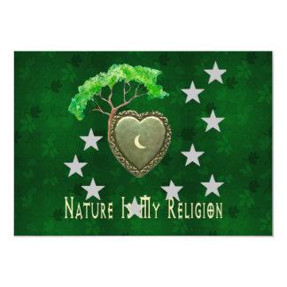 Igreja da natureza convite