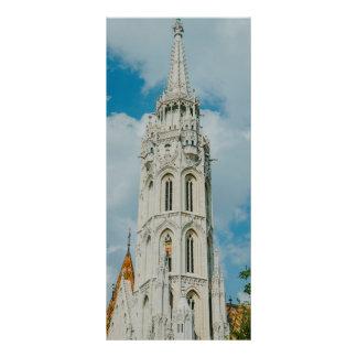 Igreja de Matthias, Budapest Panfleto Personalizado