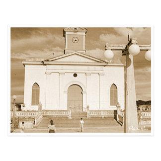 Igreja de San Sebastian, história, Puerto Rico Cartão Postal