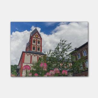 Igreja de St Bartholomew, Liege, Bélgica Bloquinho De Nota