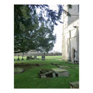 Igreja de St Mary Magdalene, campo de batalha, Shr Papel De Carta Personalizados