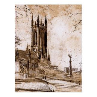 Igreja de St Thomas, Newcastle em cima do cartão