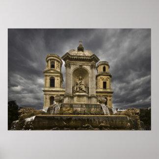 Igreja de Sulpice da rua ii Impressão