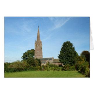 Igreja de Weobley Cartão