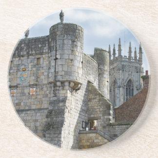 Igreja de York e bar de Bootham Porta Copos De Arenito